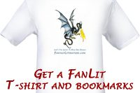 T-shirts and bookmarks!