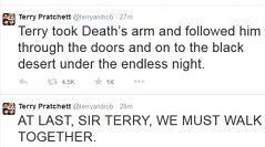 Goodbye, Sir Terry Pratchett